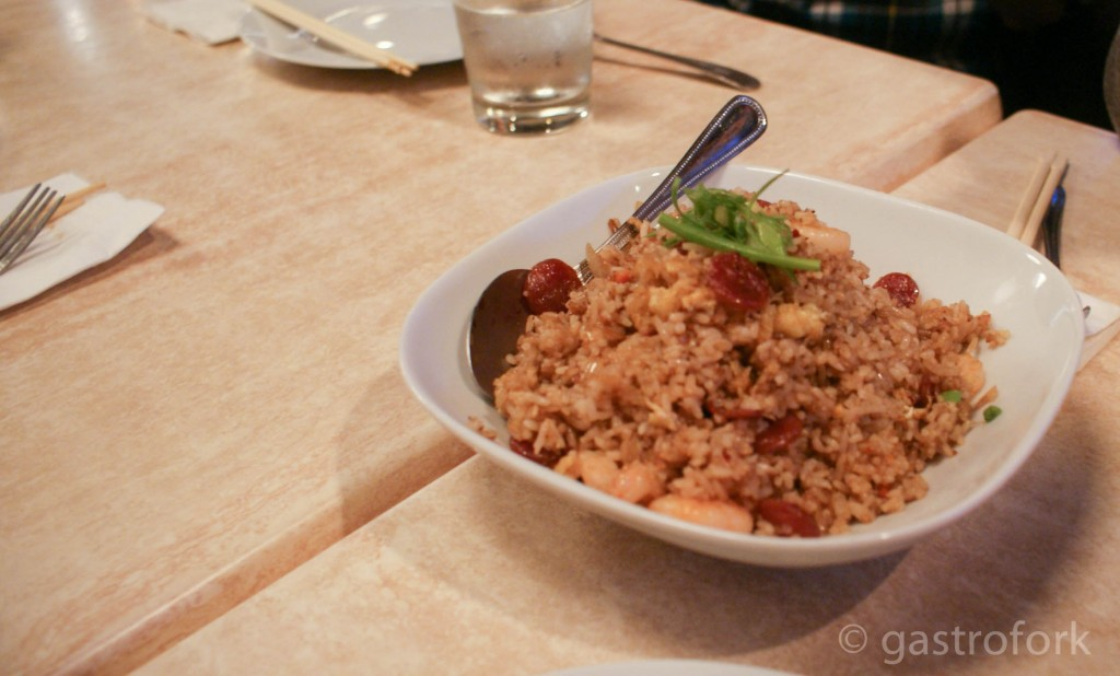 chengdu house special fried rice