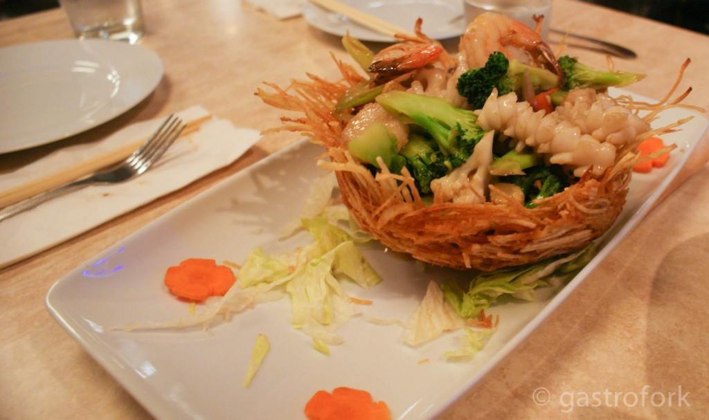birds nest seafood chengdu bistro