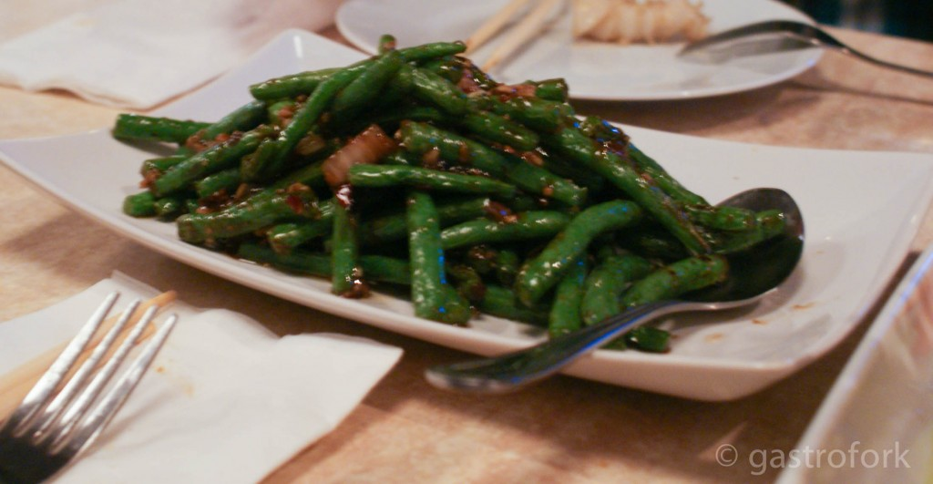 stir fried green beans chengdu bistro