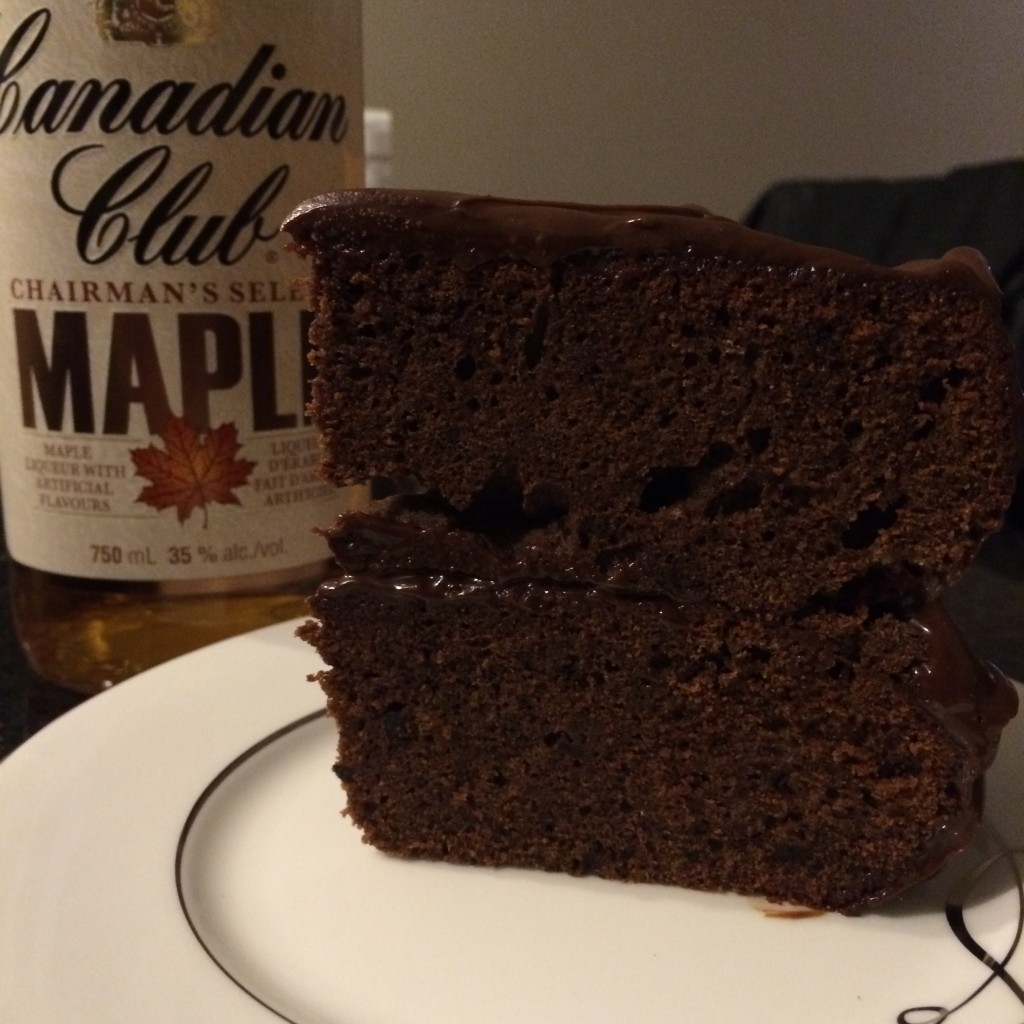 Dark Chocolate And Maple Whiskey Cake Recipe