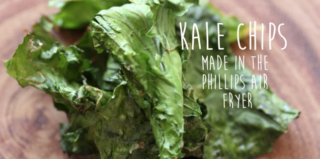 Kale Chips Recipe in Philips Air Fryer