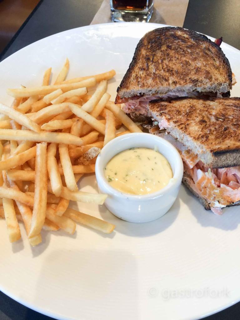 bistro verde nordstrom salmon bacon sandwich