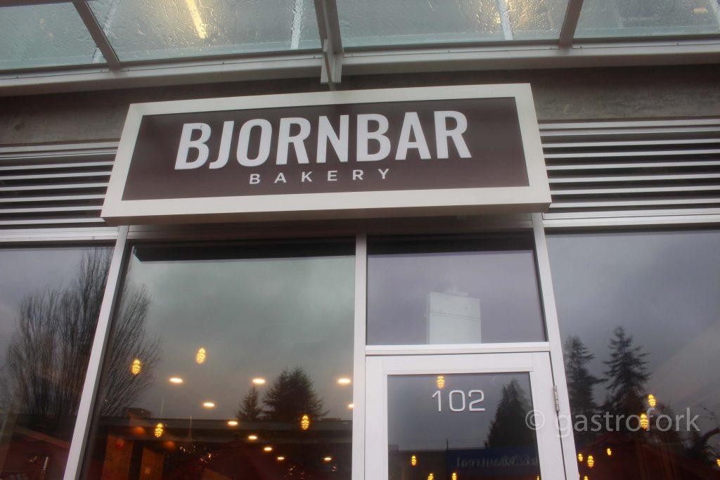 Bjorn Bar Bakery north vancouver