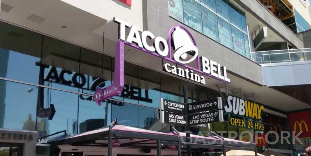 taco bell cantina las vegas location