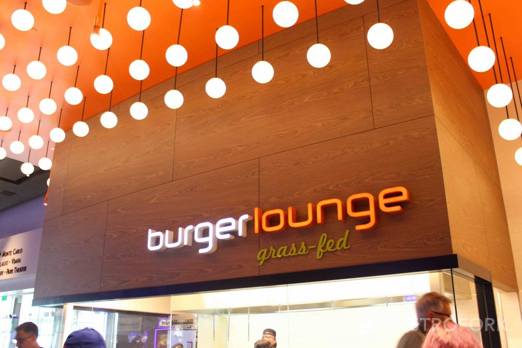 burger lounge at aria