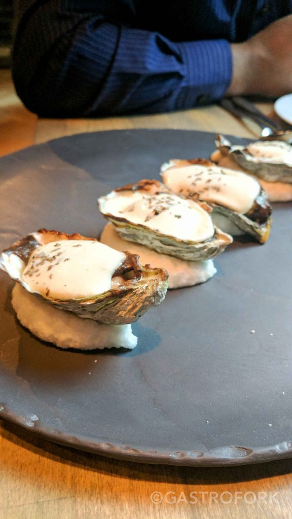 l abattoir pacific baked oysters