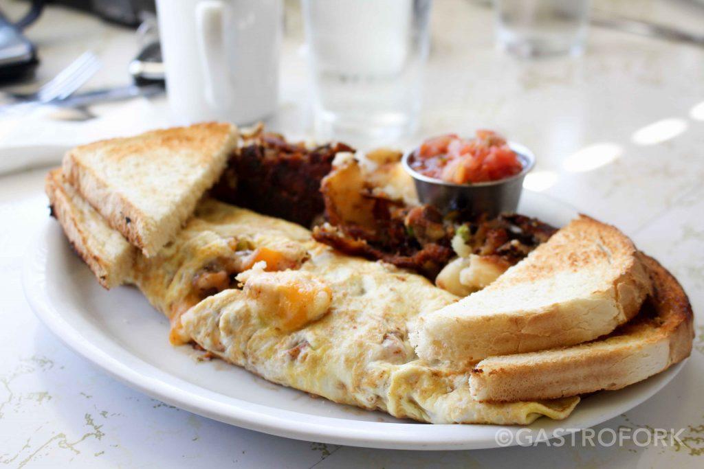 hilltop diner tex mex omelette