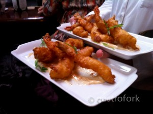 joe fortes, jumbo breaded prawns
