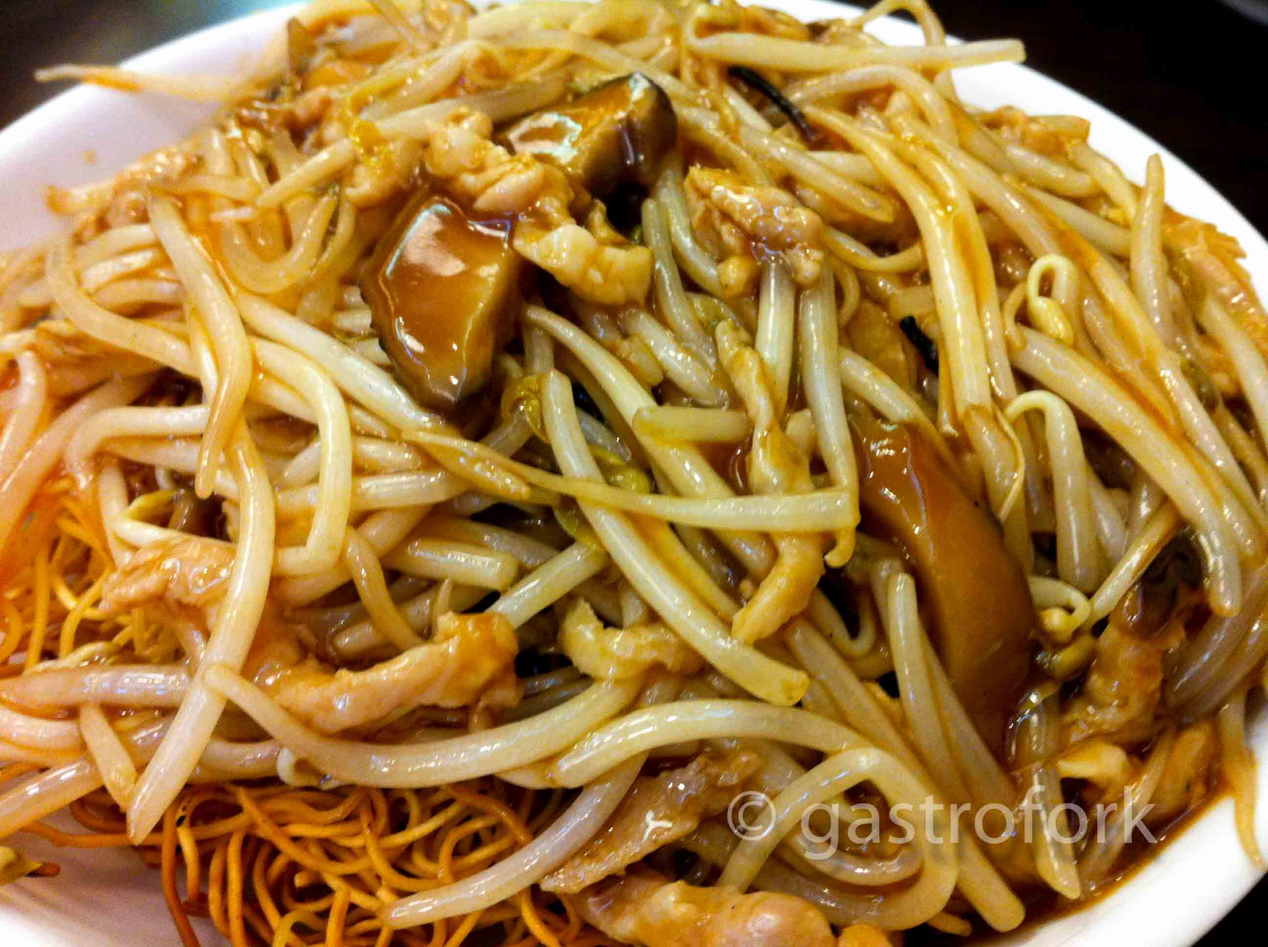 Bean Sprout Chow Mein