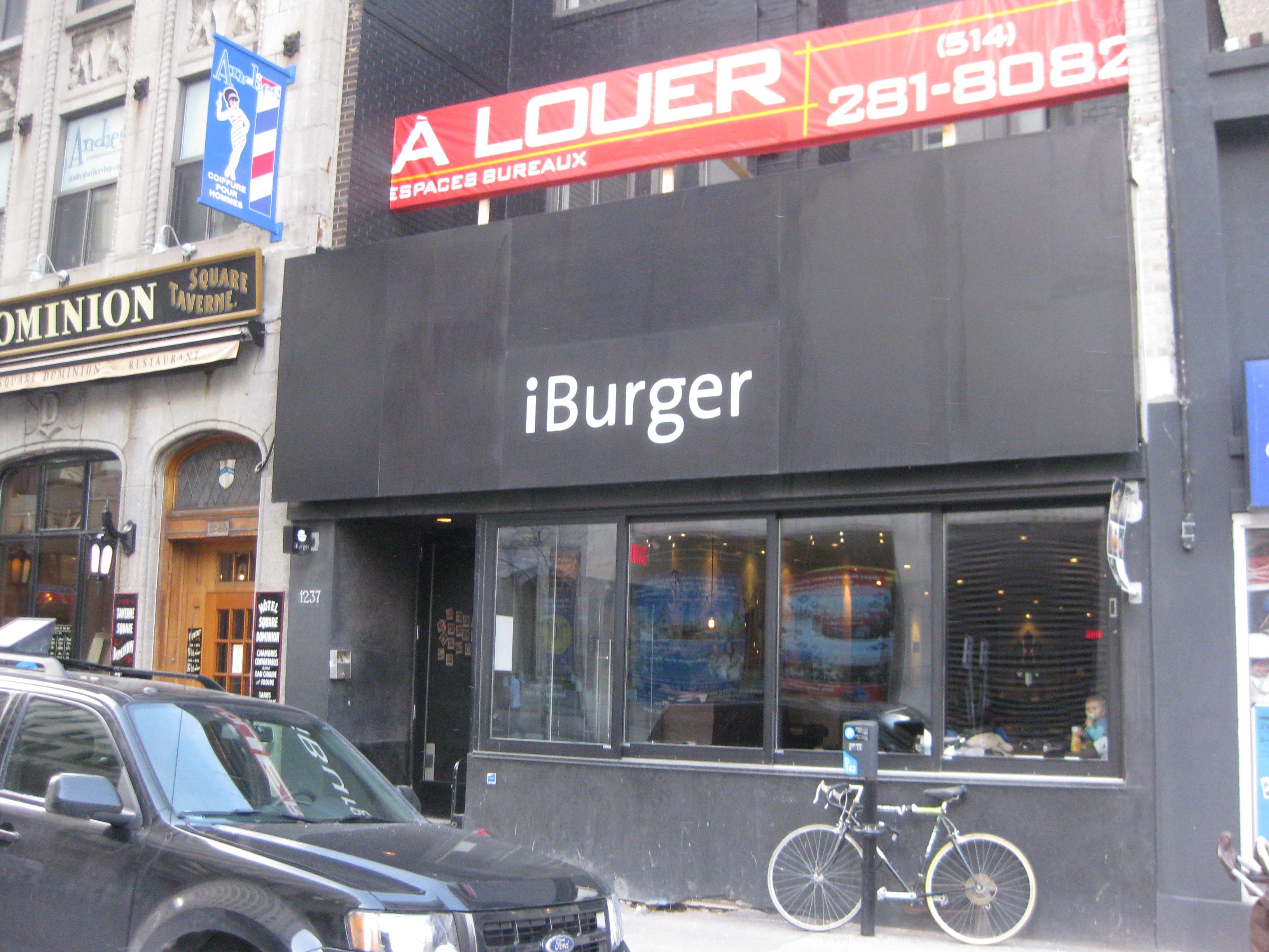 Facade - iBurger