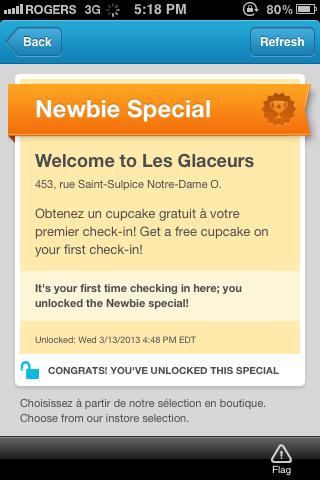 Foursquare special - Les Glaceurs