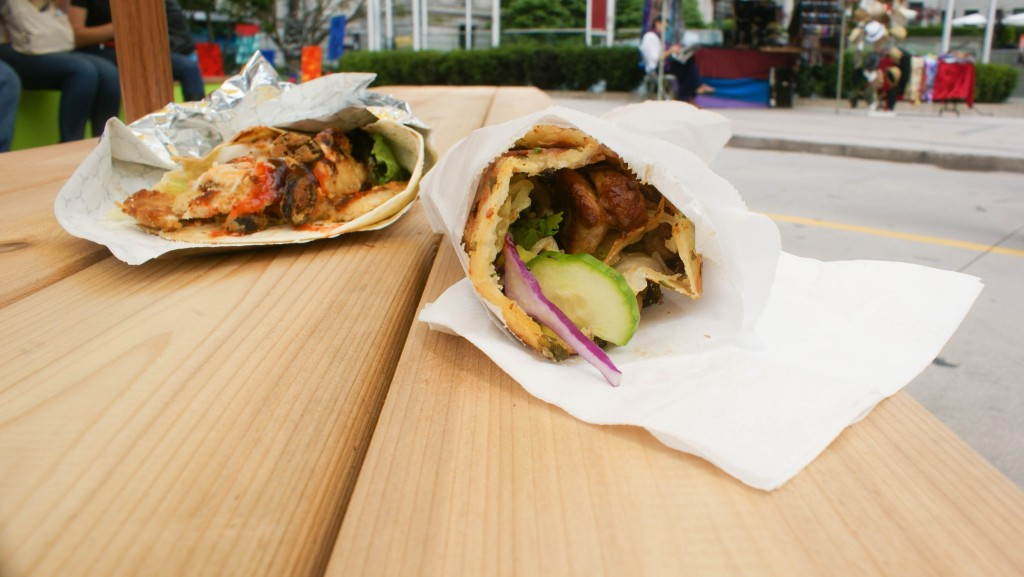 Eat Chicken Wraps Gastrofork Vancouver Food And Travel Blog