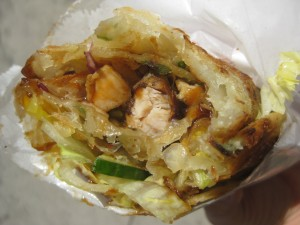 Hoisin Chicken Roll 3