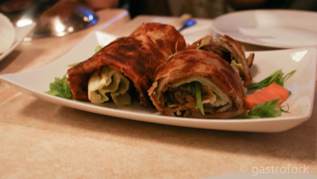 sirloin beef roll chengdu bistro