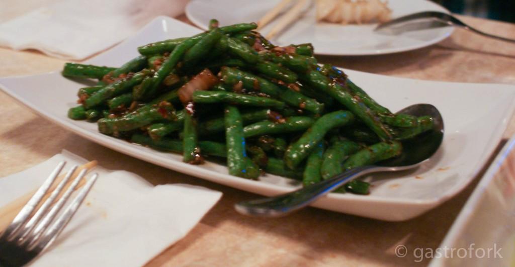 stir fried green beans chengdu bistro