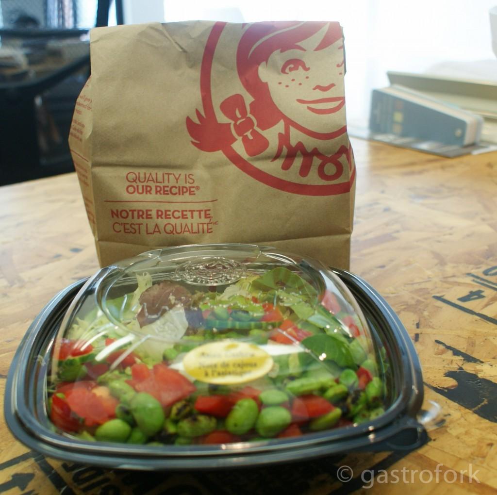 wendys salad