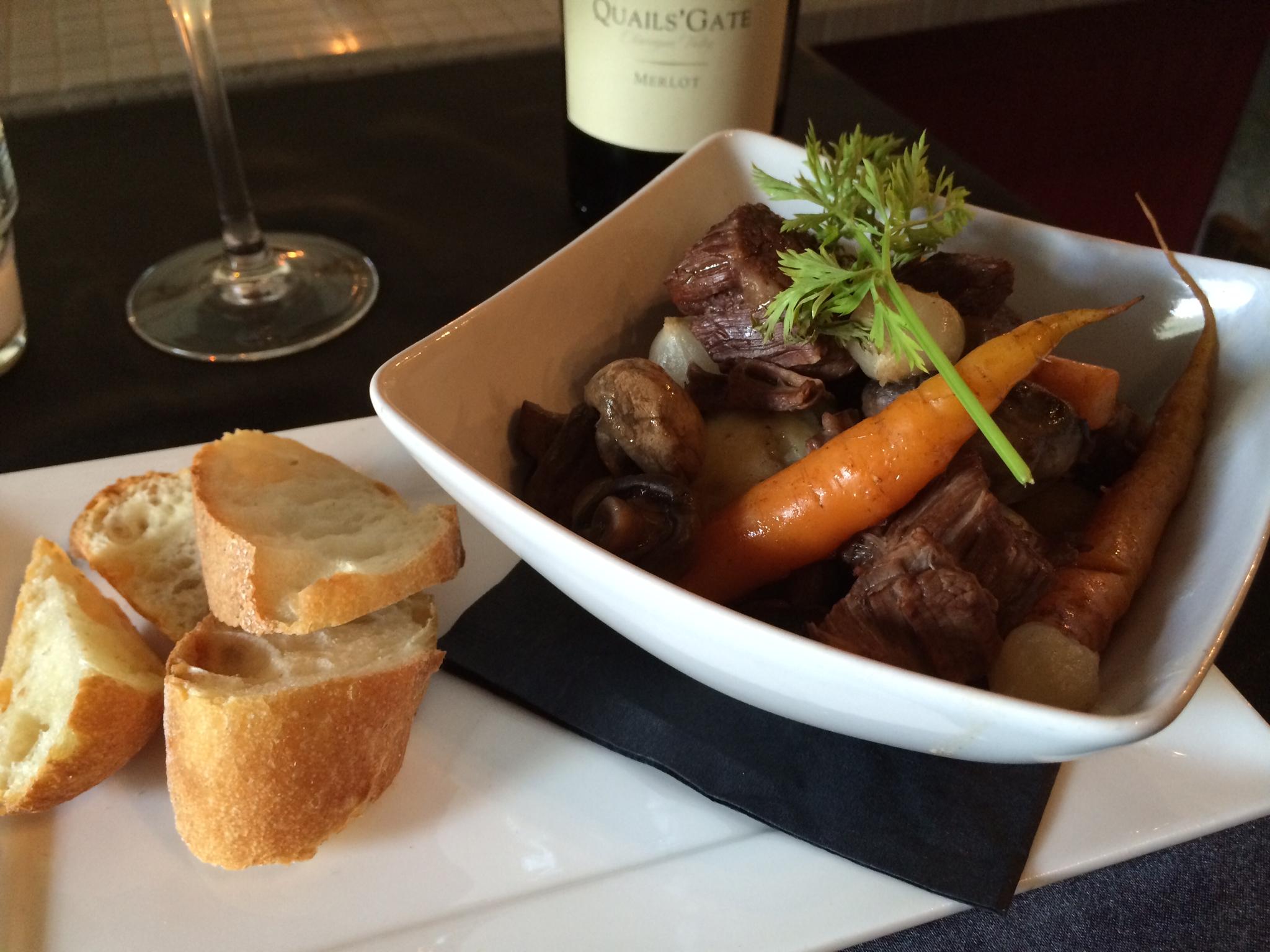 Burgundy Restaurant - Beef Bourguignon