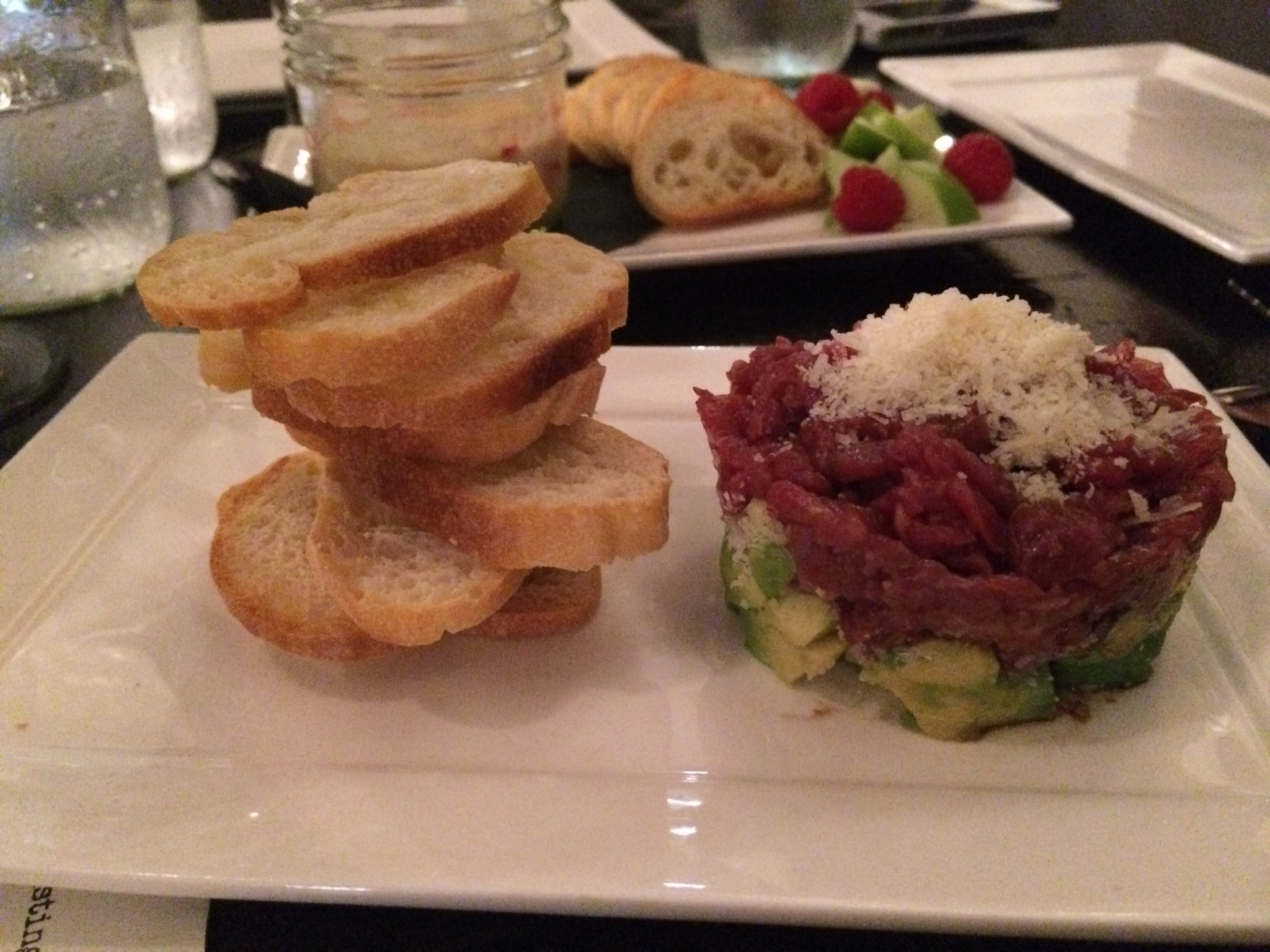 Burgundy Restaurant - Beef Tartar