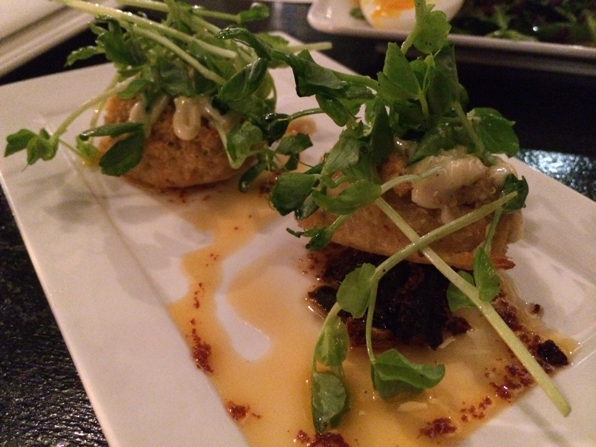 Burgundy Restaurant - Crab Cakes