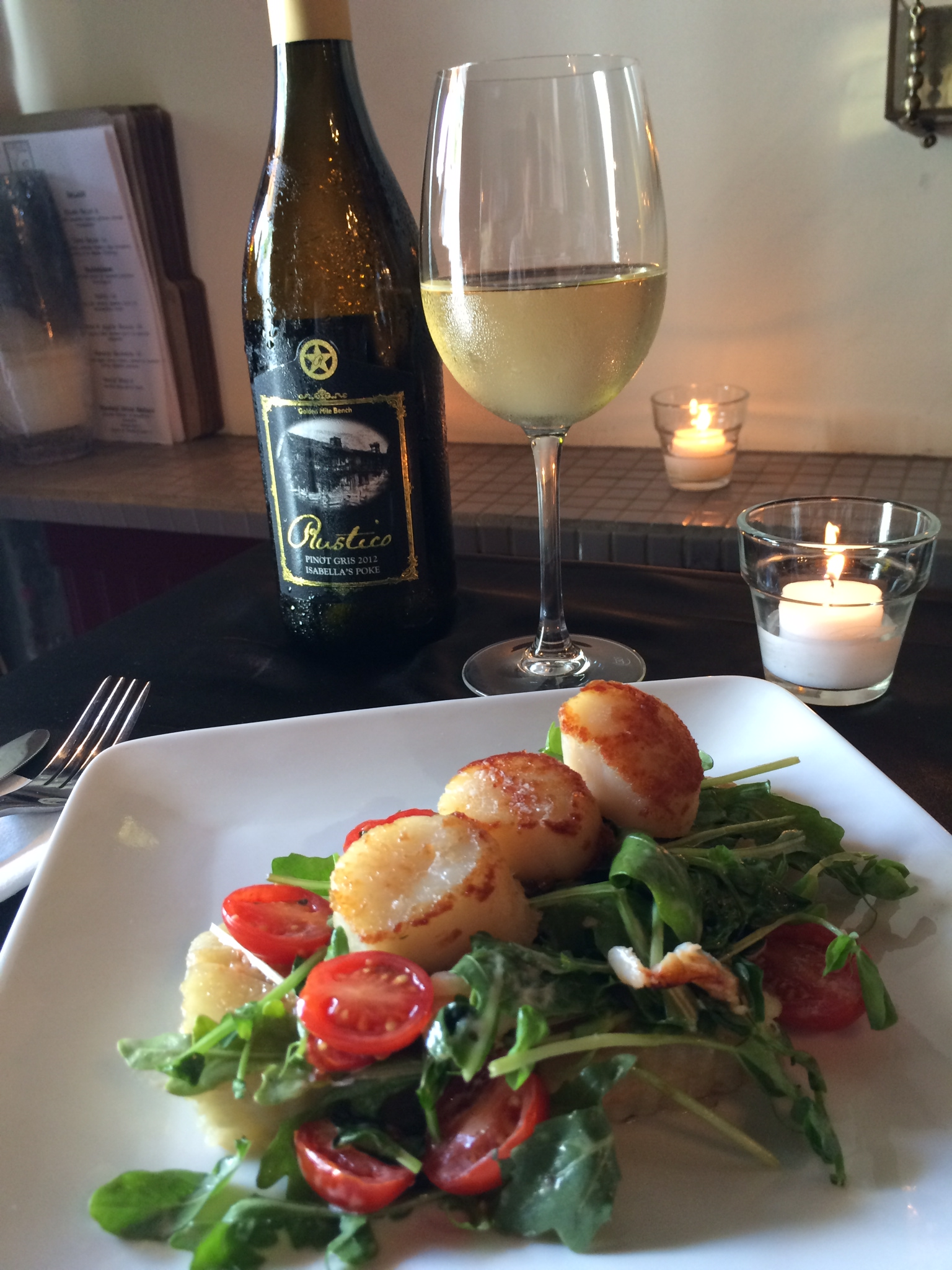 Burgundy Restaurant - Scallops & Crab