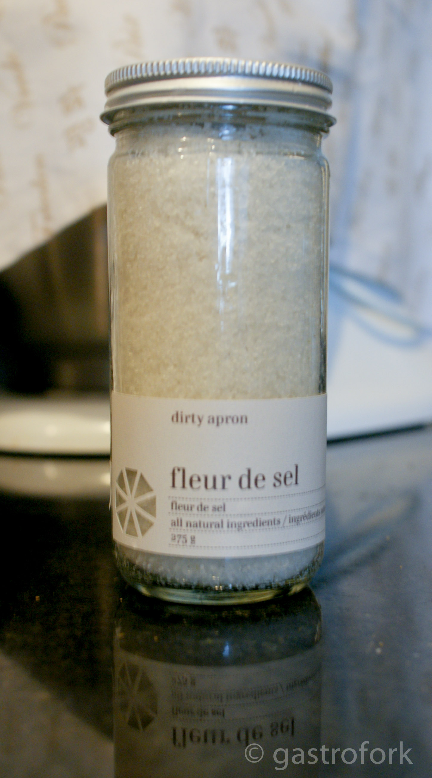 Use fleur de sel rather than your traditional salt - it helps keep the moisture!