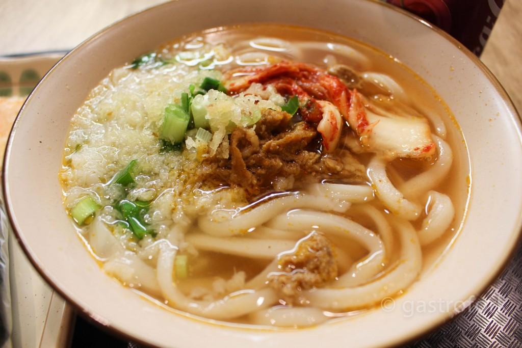 sanuki udon vancouver porkimchi udon