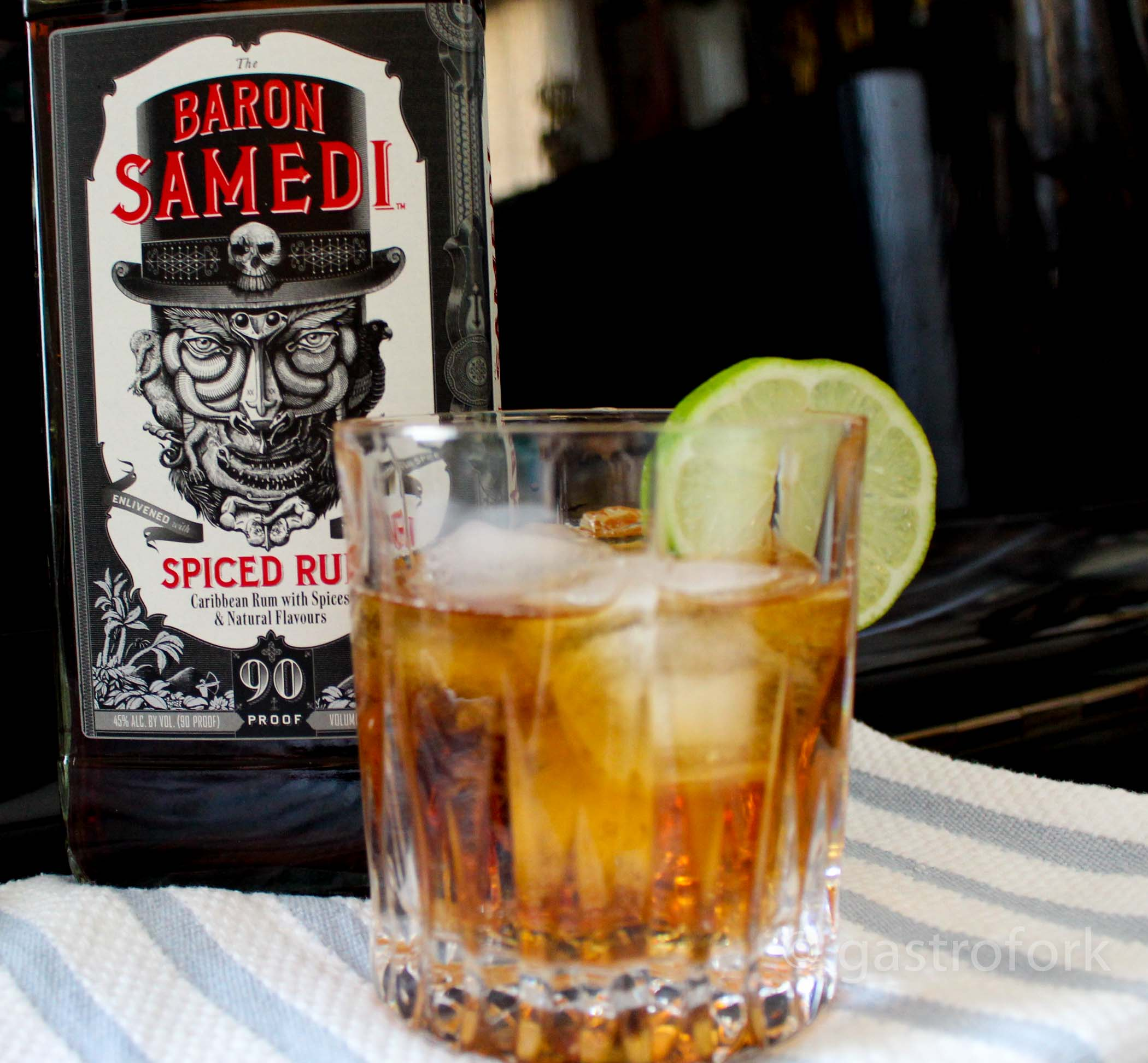 Haitian storm cocktail recipe with the baron samedi rum for Mixed drink with spiced rum