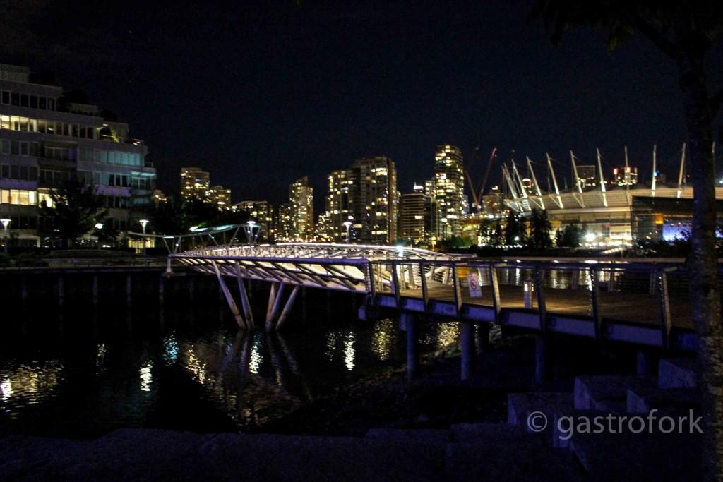 Olympic Village at Night
