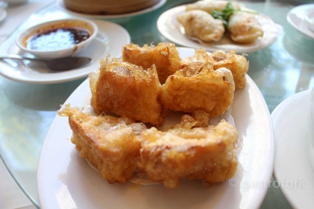 kirin dim sum deep fried tofu minced pork