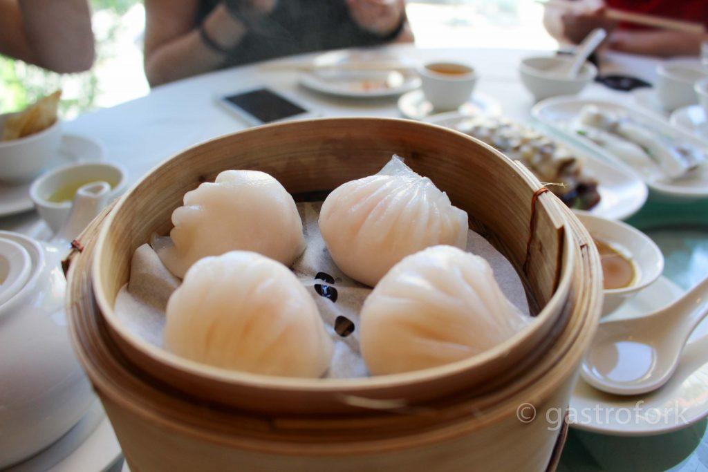 kirin dim sum hau gau shrimp dumpling