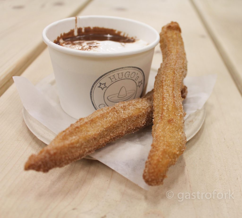 Hugo's Churros with Spanish Style Hot Chocolate