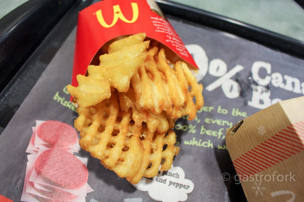 mcdonald's seasonal cravings waffle cut fries