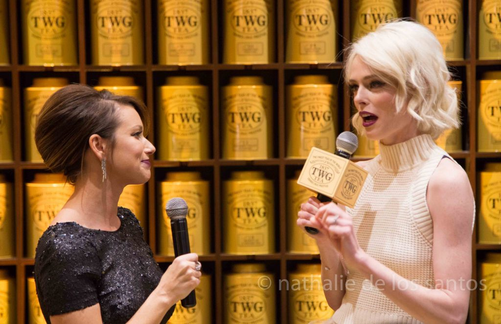 Coco Rocha at TWG Opening in Vancouver - Photo by Nathalie de los Santos