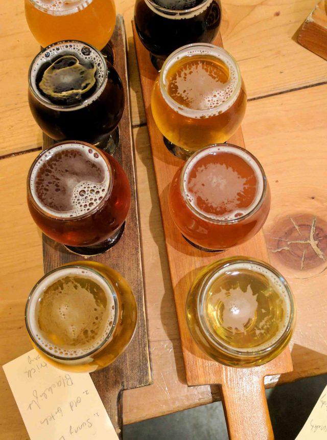 brassneck brewery flights