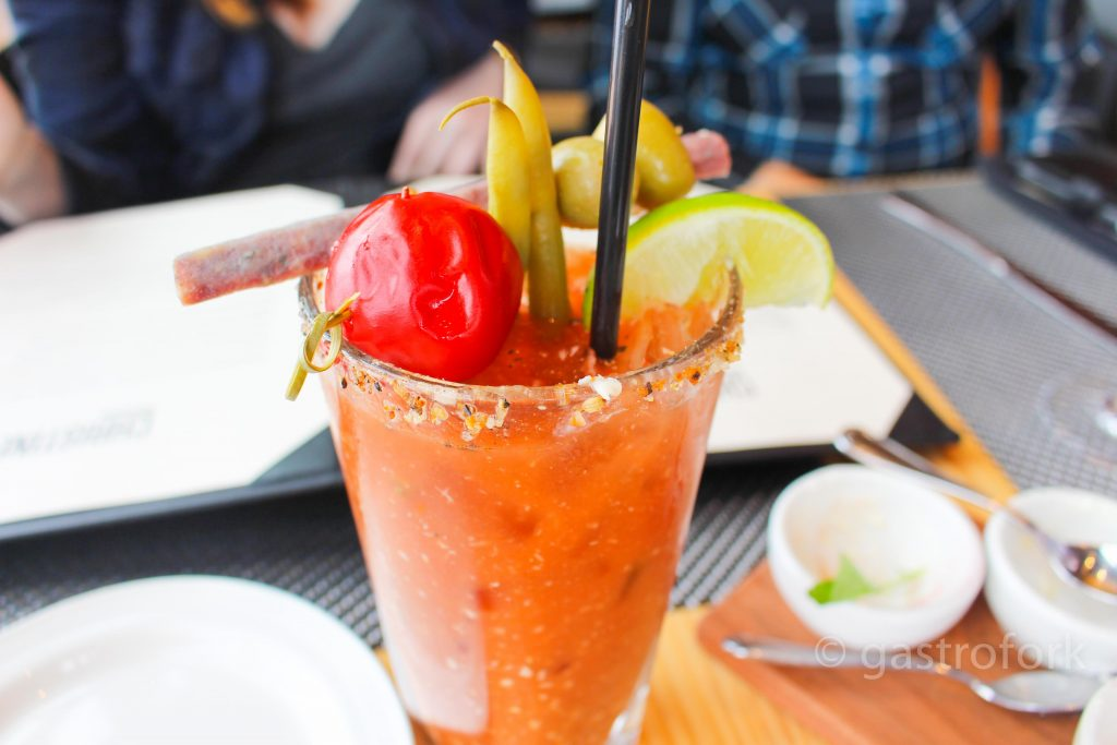 christines on blackcomb summer gin royale caesar