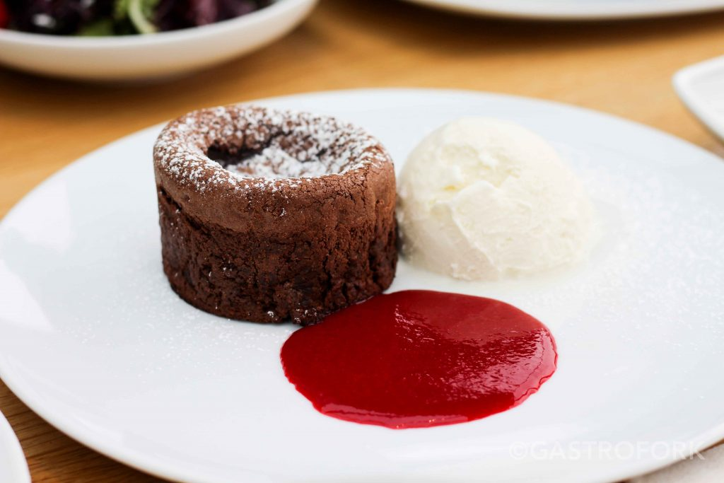 chocolate lava cake cactus club