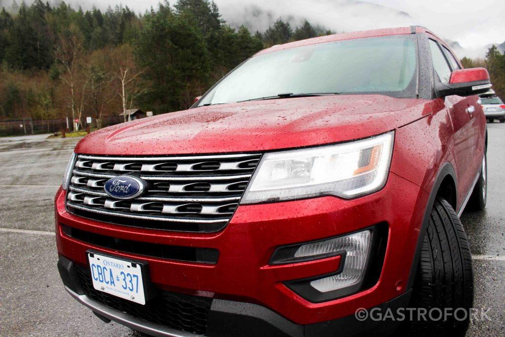 2017 ford explorer limited front ruby red