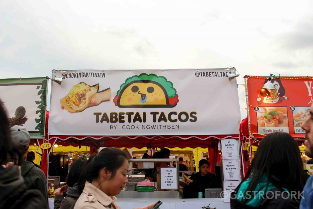 tabatei tacos soft shelled crab richmond night market