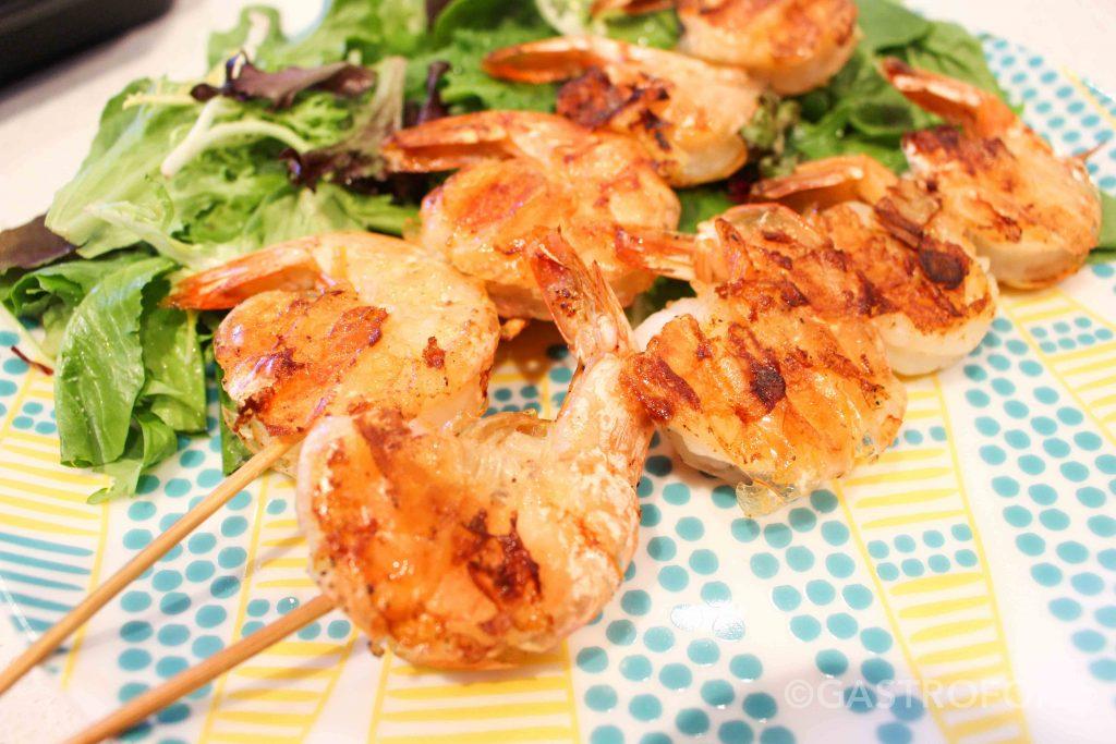 garlic butter prawns recipe granville island brewery summer ale