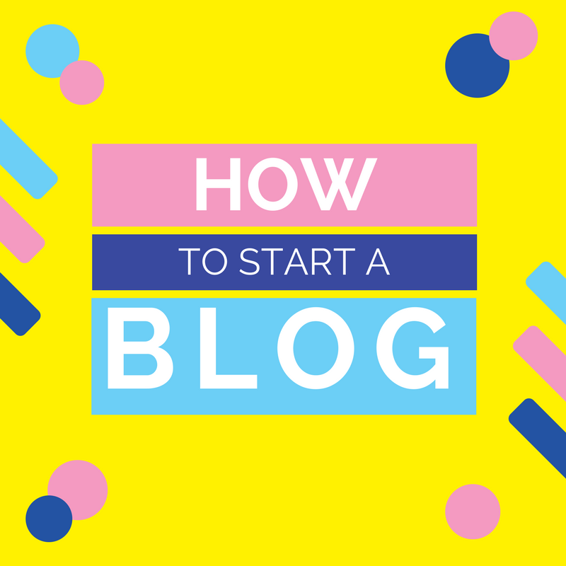 how to start a blog and 5 tips
