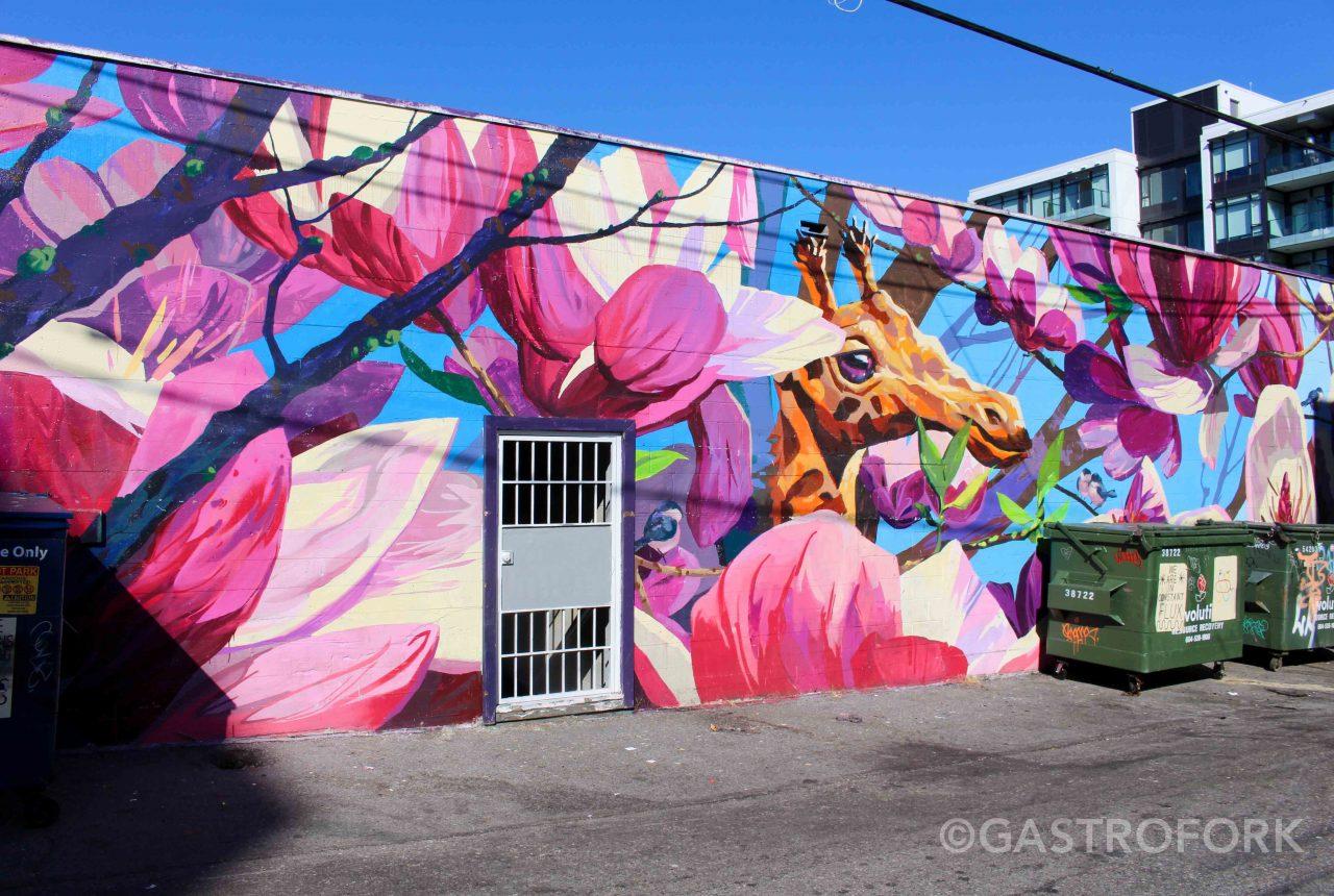 Vancouver Mural Festival | gastrofork | Vancouver food and travel blog