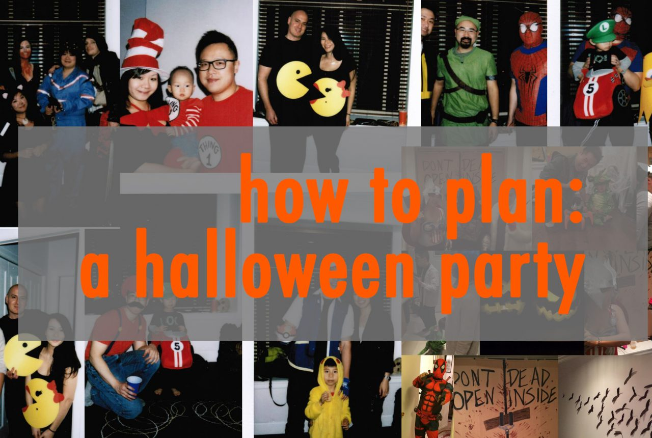 how to throw a halloween party part 1