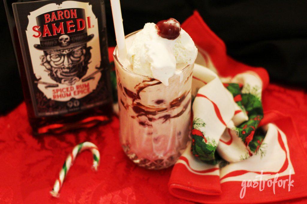 baron samedi black forest rum shake