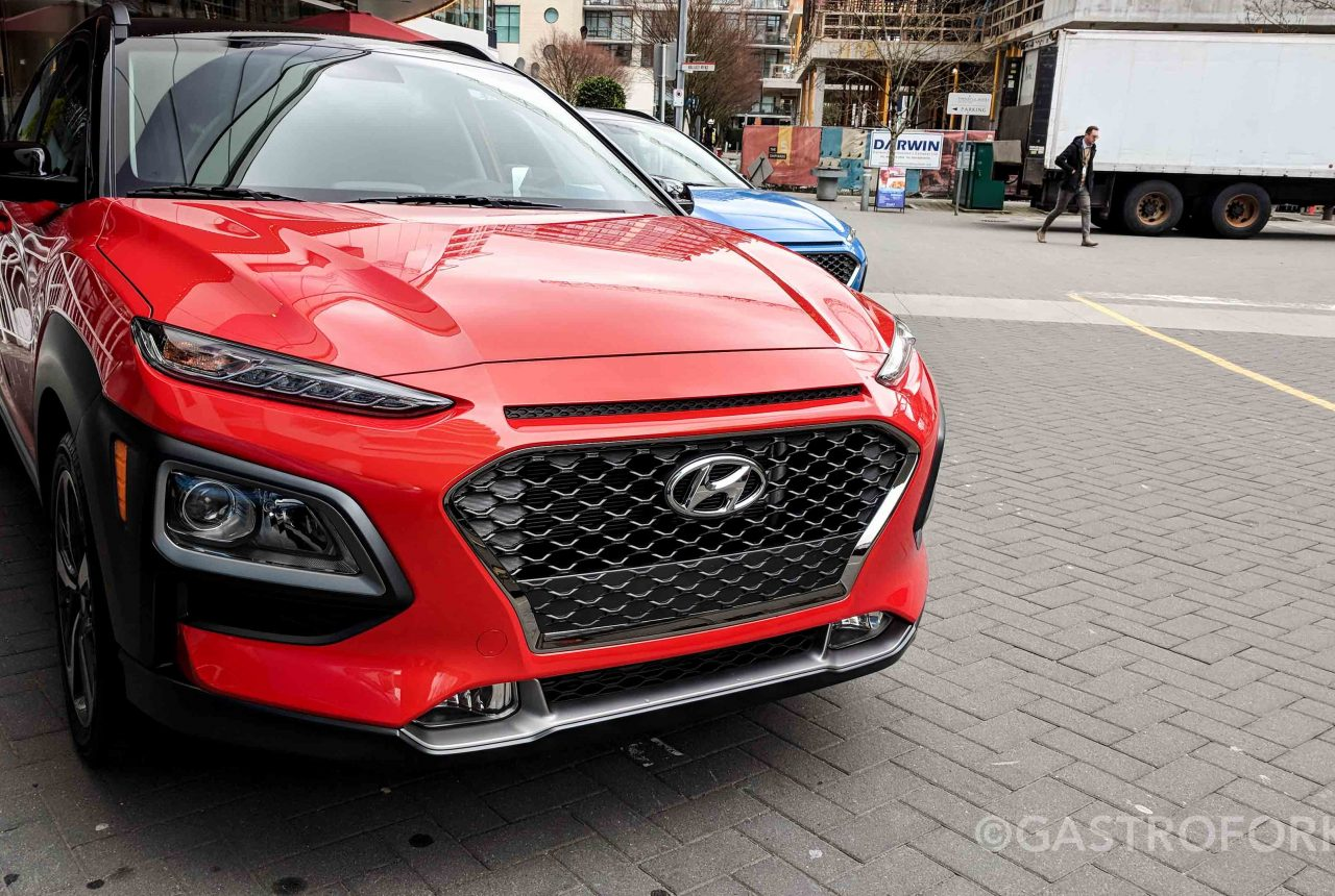 2018 hyundai kona my thoughts gastrofork vancouver. Black Bedroom Furniture Sets. Home Design Ideas