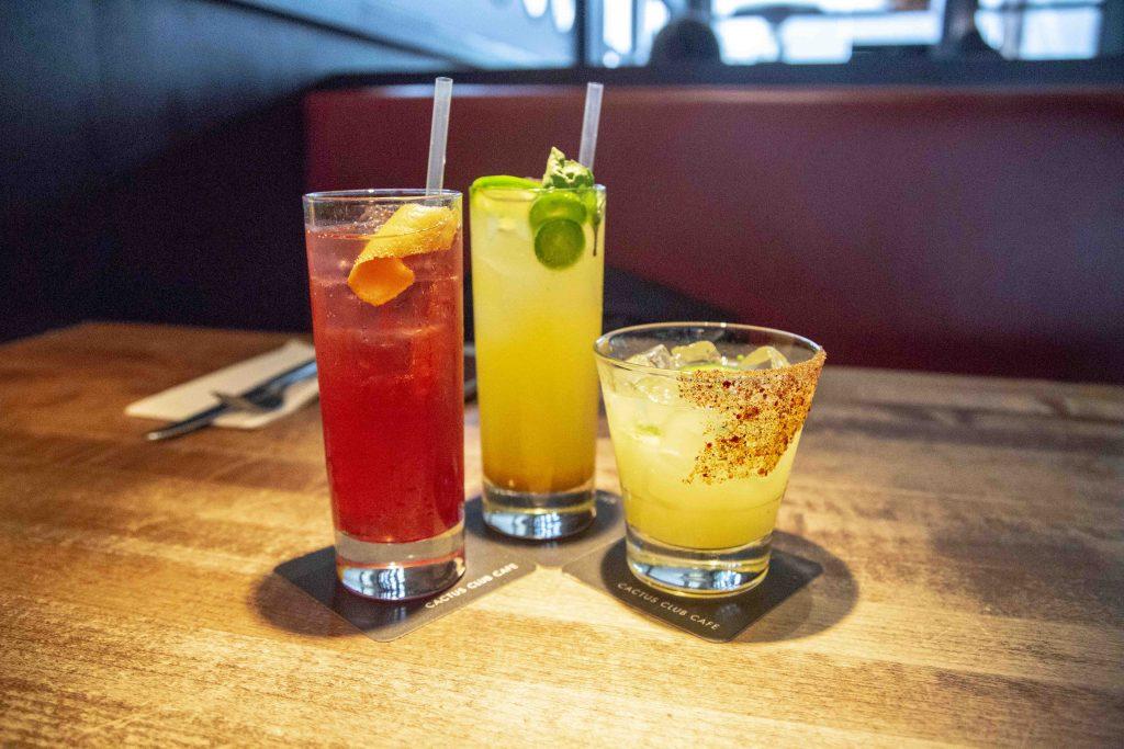 cactus club cafe cocktails spring 2018