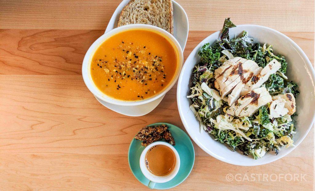 tractor foods chicken kale caesar salad