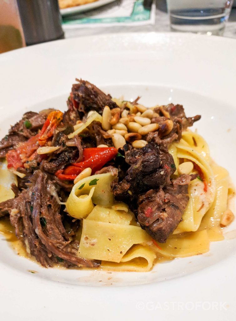 trattoria burnaby short rib pappardelle