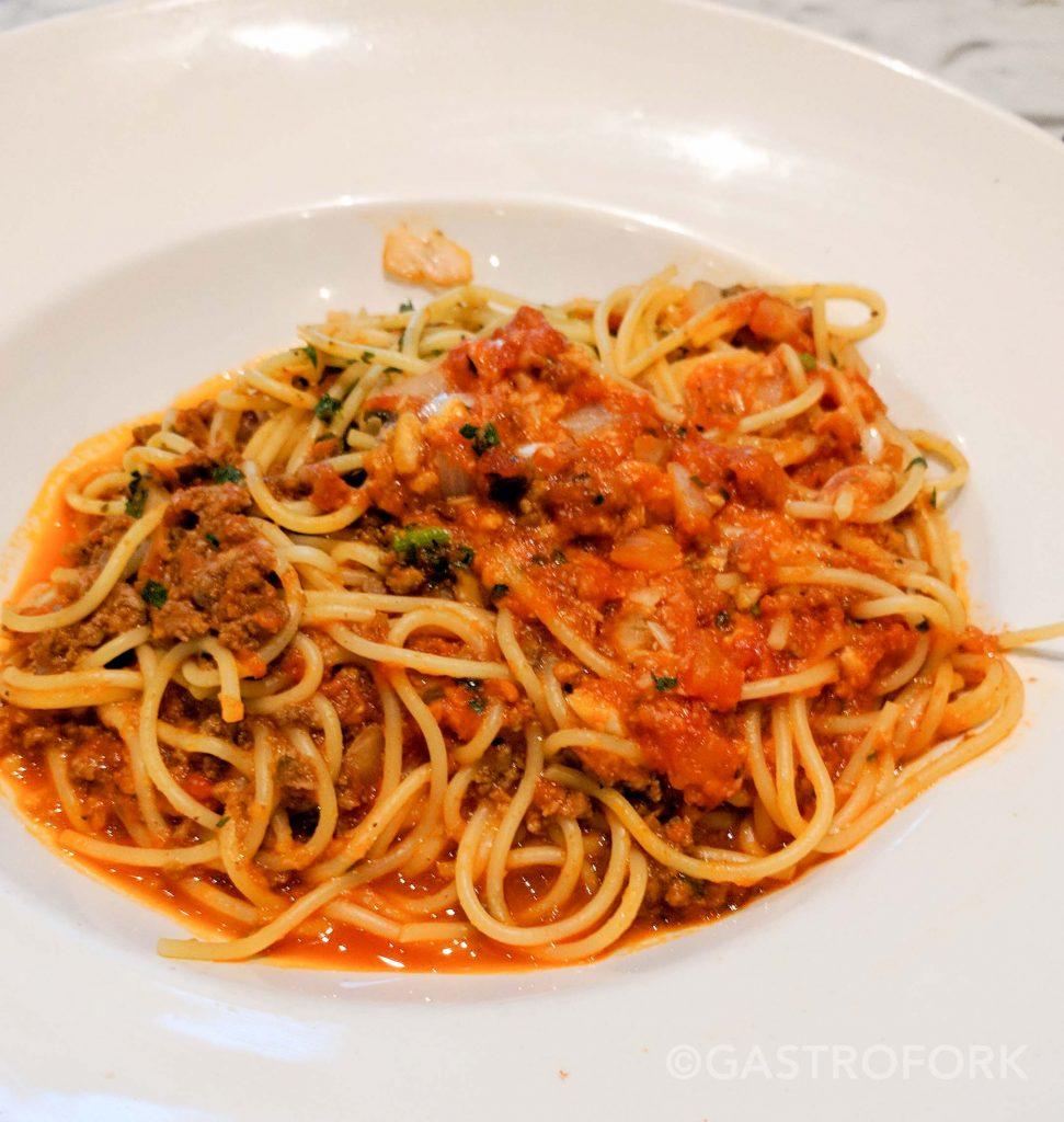 trattoria burnaby spaghetti and meatballs