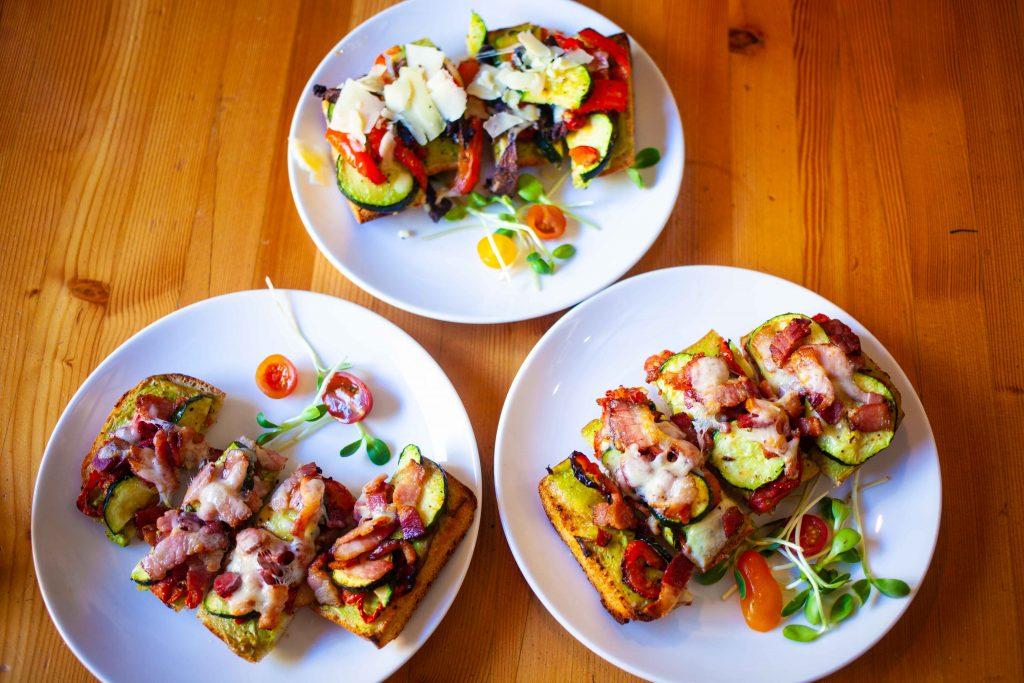 Rocky Mountain Flatbread Summer Open Face Sandwiches