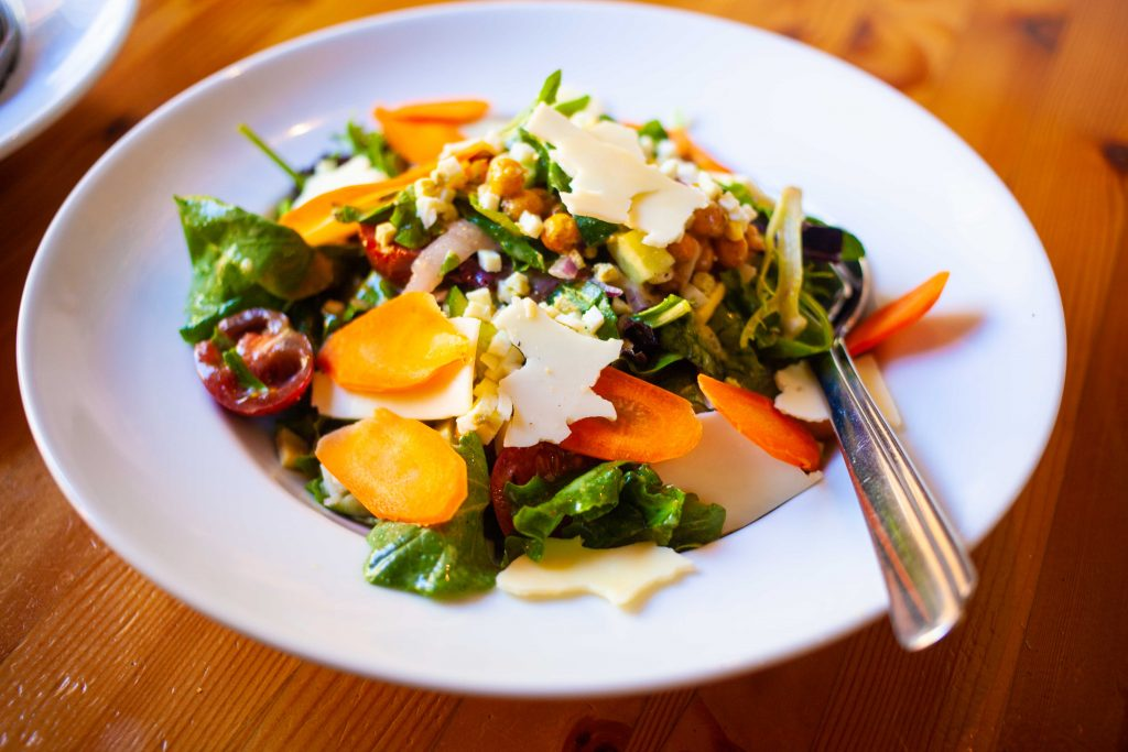 Spring Greens Salad Rocky Mountain Flatbread Summer